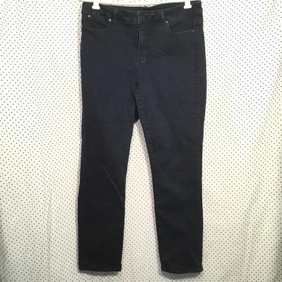 2d3709e253f Talbots Dark Wash Heritage Fit Straight Leg Jeans